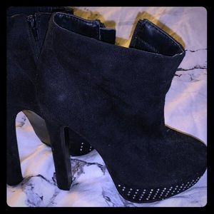 Charlotte Russe ankle boot heels